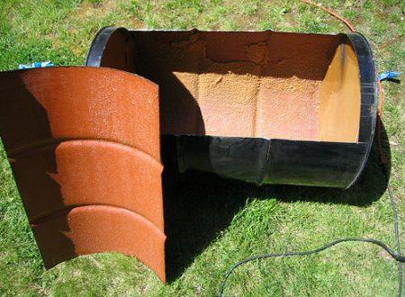 Costruire il barbecue fai da te…con un paio di barili!