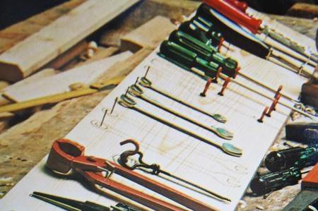 Costruire un pannello per gli attrezzi