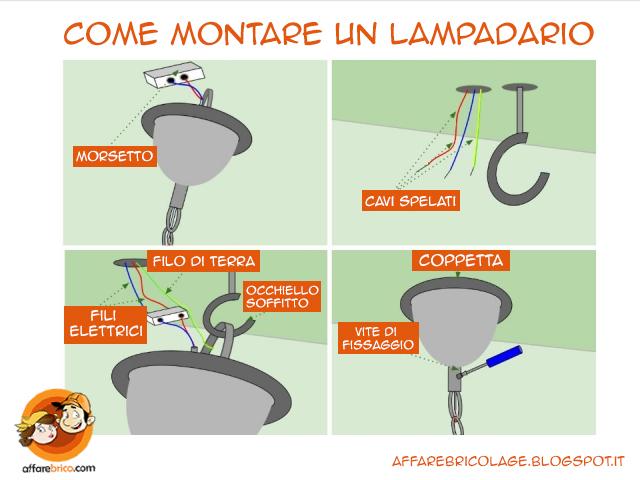 Schema Elettrico Lampadario Doppia Accensione : Tutorial montare un lampadario fai da te strane idee